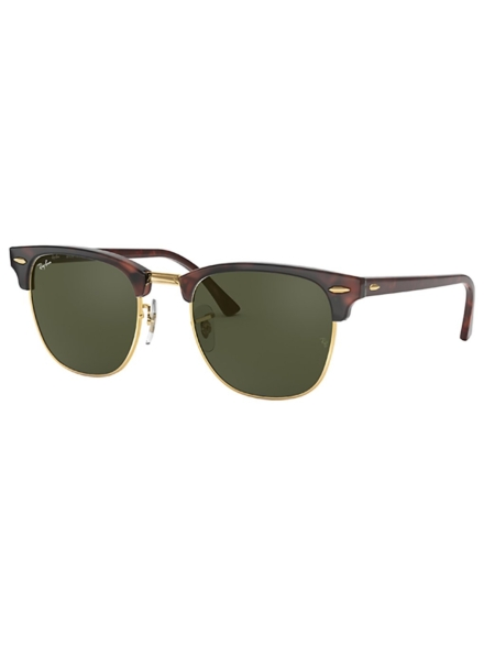 Ray-Ban Clubmaster Mock Tortoise/Arista bruin