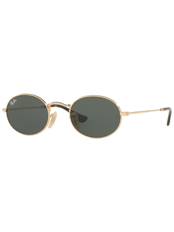 Ray-Ban Oval Gold zwart