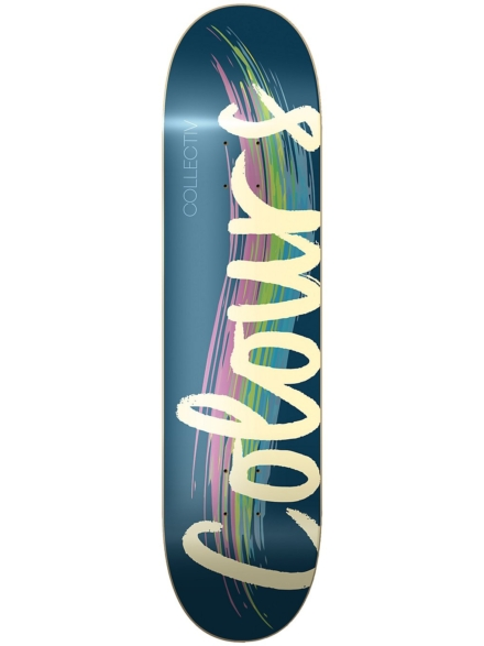 "Colours Logo 8.5"" Skateboard Deck blauw"