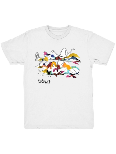 Colours Will Barras King of Summer T-Shirt wit