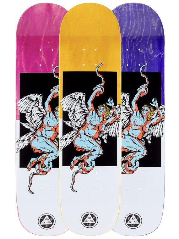 Welcome Seraphim On Big Bunyip 8.5″ Skateboard Deck patroon