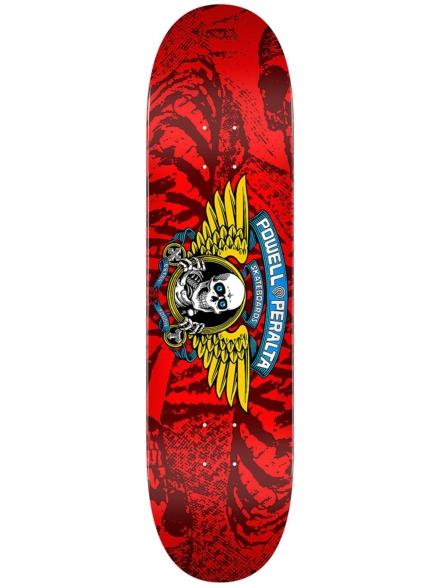 "Powell Peralta Winged Ripper Birch 7.0"" Skateboard Deck rood"