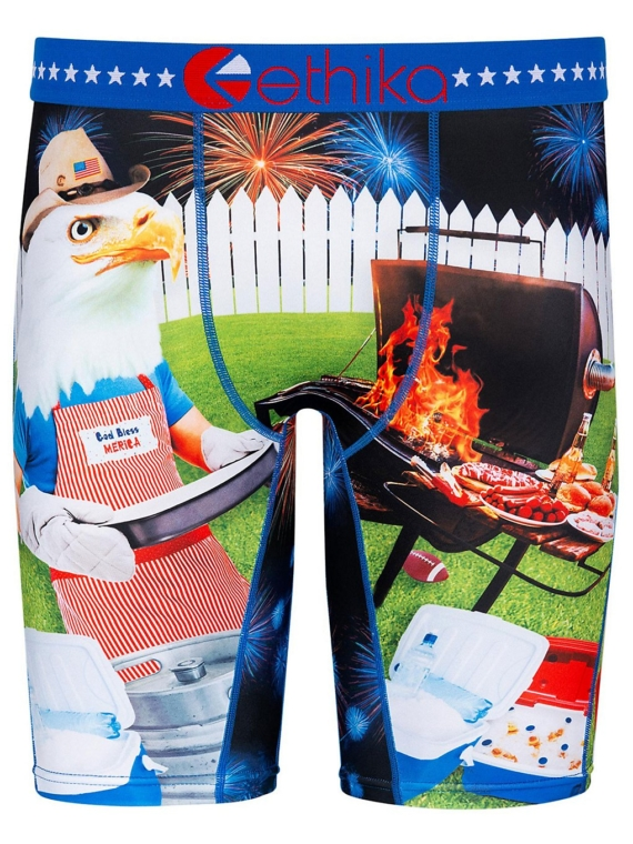 Ethika Party Animal (4Th Of July) Boxershorts patroon
