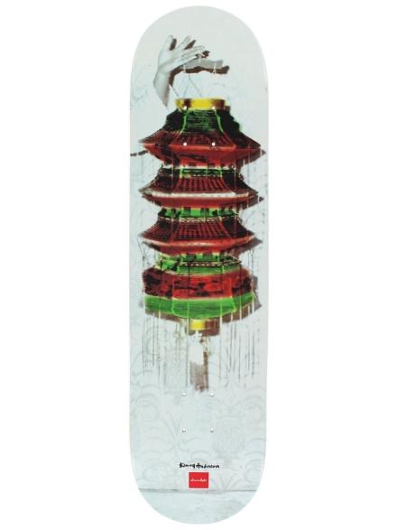 "Chocolate Kenny Anderson Lamp 8.0"" Skateboard Deck patroon"