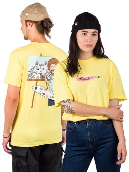 RIPNDIP Ross T-Shirt geel