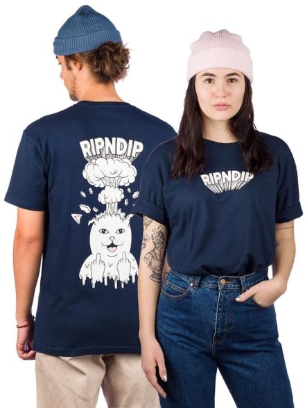 RIPNDIP Mind Blown T-Shirt blauw