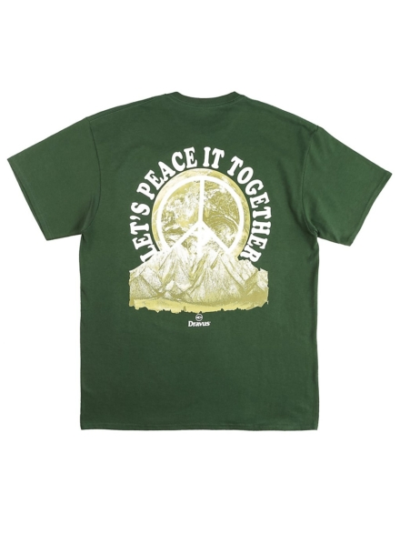 Dravus Peace it T-Shirt groen