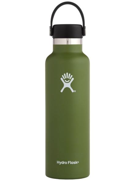 Hydro Flask 21 Oz Standard Mouth With Standard Flex Bottle groen