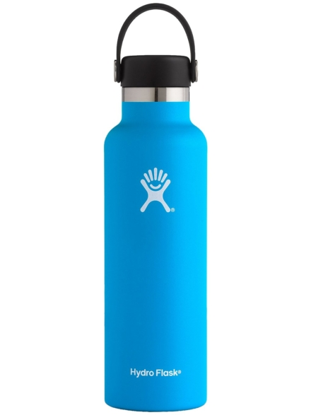Hydro Flask 21 Oz Standard Mouth With Standard Flex Bottle blauw