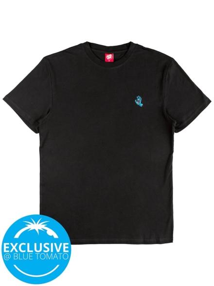 Santa Cruz X BT Screaming Mini Hand T-Shirt zwart