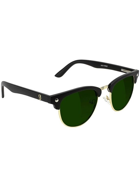 Glassy Morrison Premium Polarized zwart/Green L zwart