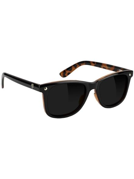 Glassy Mikemo Premium Polarized Matte zwart / Tortoise zwart