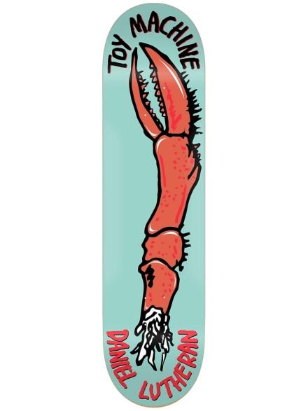 """Toy Machine Fos Arm Series 8.5"""" Skateboard Deck patroon"""