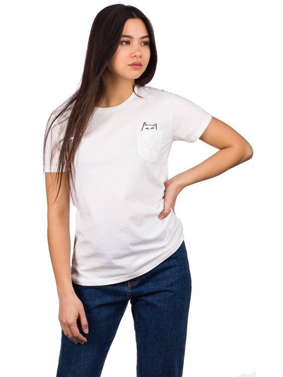 RIPNDIP Lord Nermal Pocket T-Shirt wit