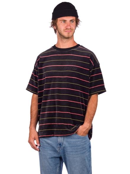 adidas Skateboarding Velour Jersey T-Shirt zwart