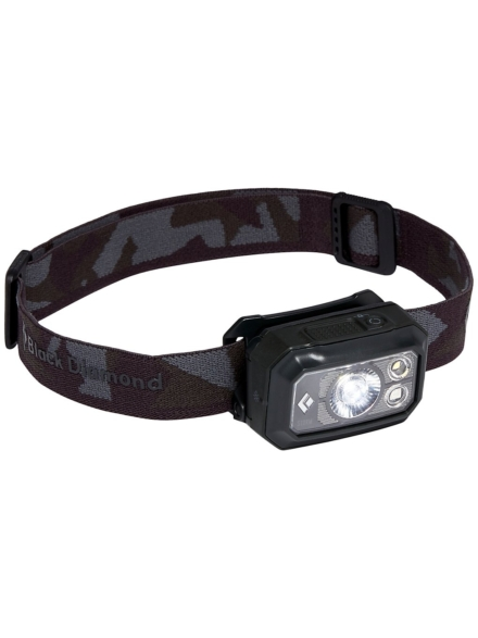 zwart Diamond Storm 375 Headlamp zwart