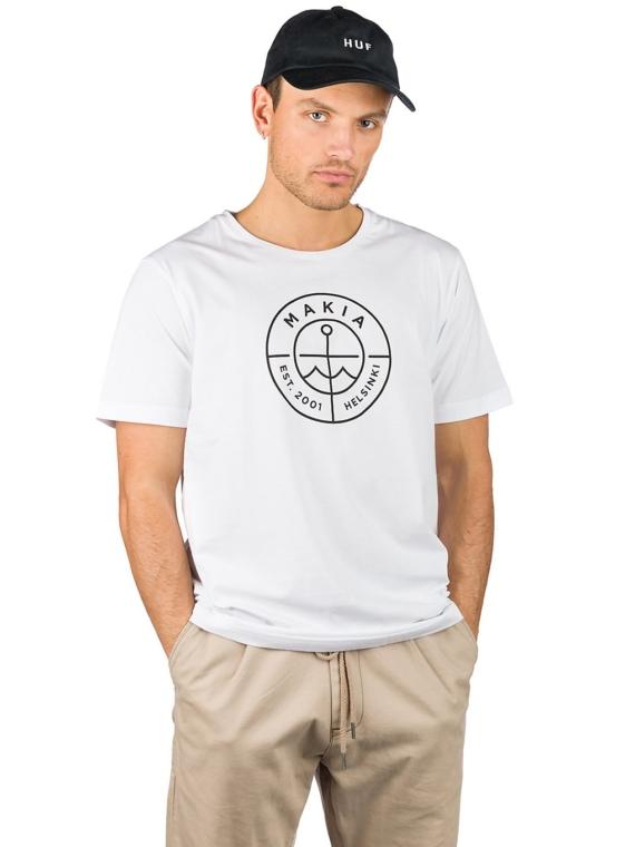 Makia Scope T-Shirt wit
