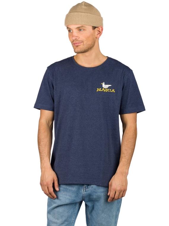 Makia Leisure T-Shirt blauw