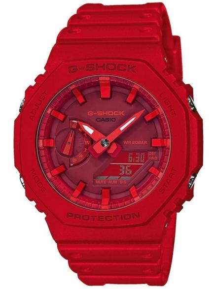 G-SHOCK GA-2100-4AER rood