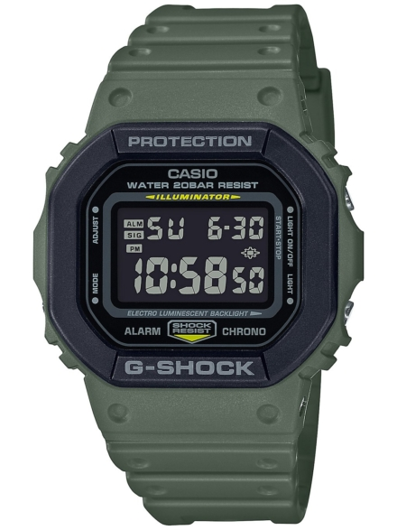G-SHOCK DW-5610SU-3ER groen