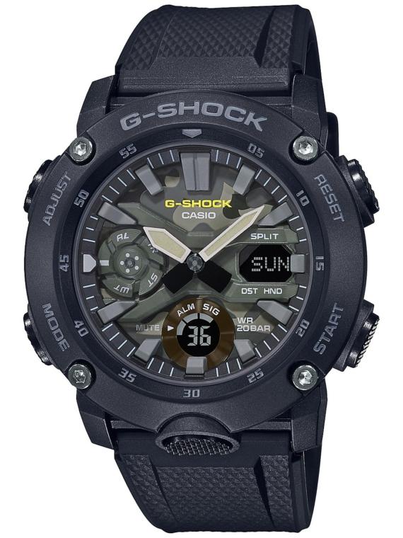 G-SHOCK GA-2000SU-1AER zwart