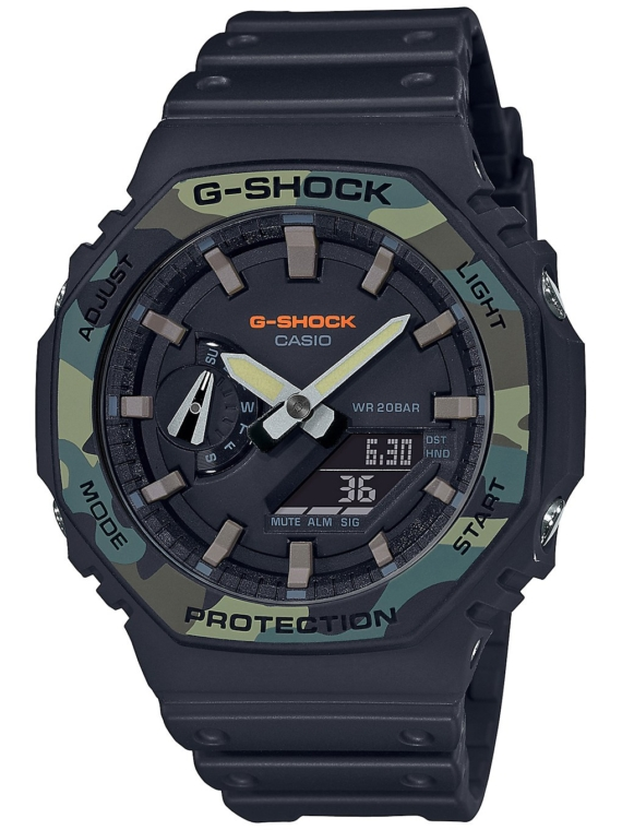G-SHOCK GA-2100SU-1AER zwart
