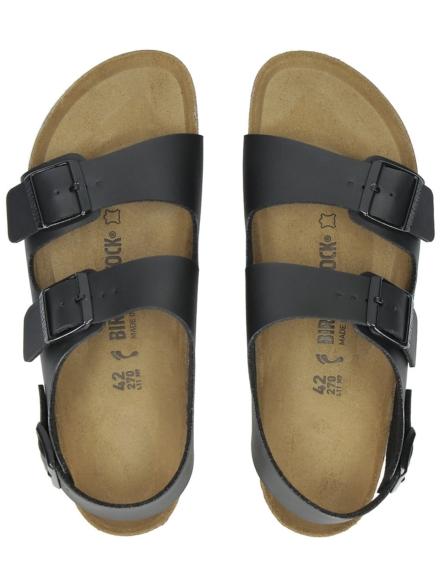 Birkenstock Milano BF slippers zwart