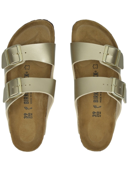 Birkenstock Arizona BF slippers geel