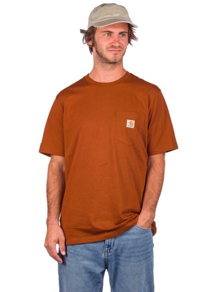 Carhartt WIP Pocket T-Shirt rood