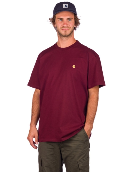 Carhartt WIP Chase T-Shirt rood