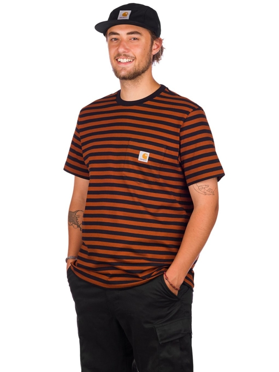 Carhartt WIP Parker Pocket T-Shirt patroon