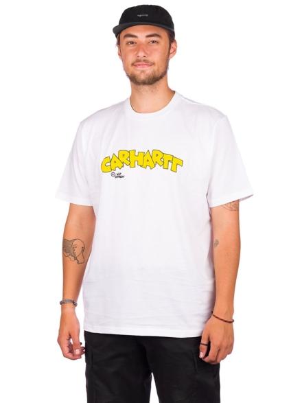 Carhartt WIP Loony Script T-Shirt wit