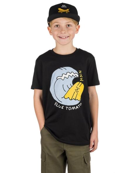 Blue Tomato Beach Nap T-Shirt zwart