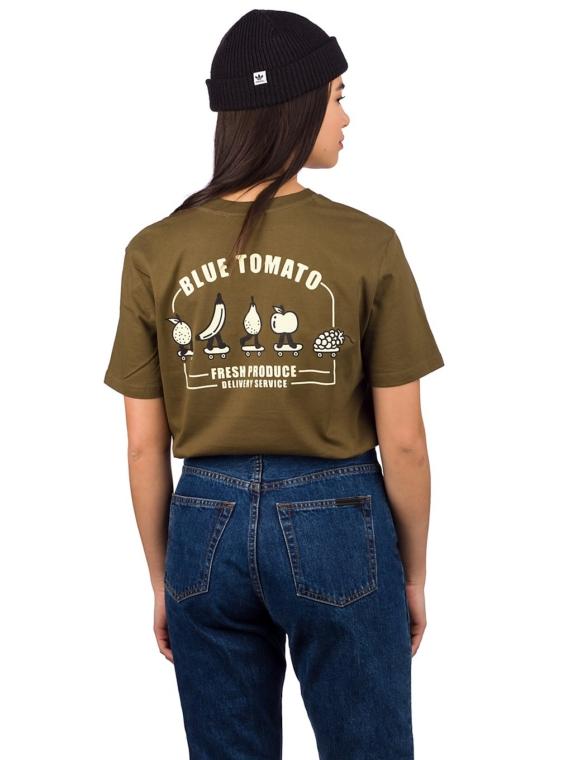 Blue Tomato Fresh Produce T-Shirt bruin