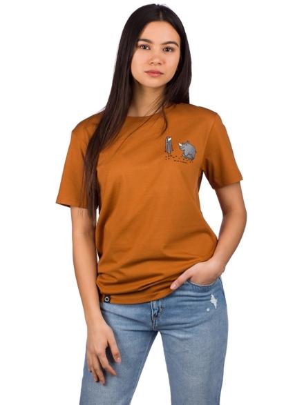 Blue Tomato Seperated at Birth T-Shirt oranje
