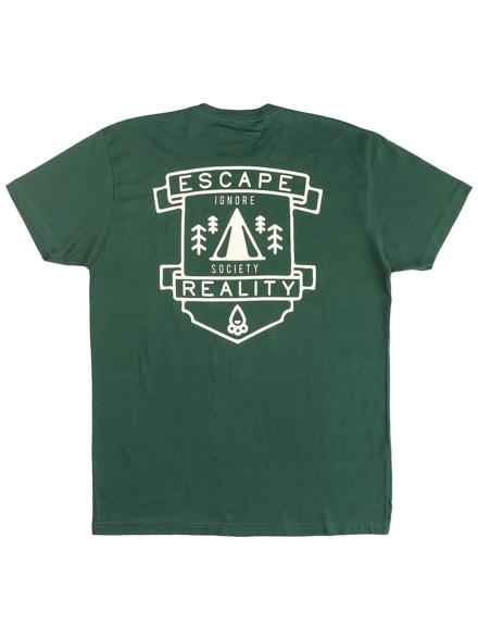 Dravus Escape Reality T-Shirt groen