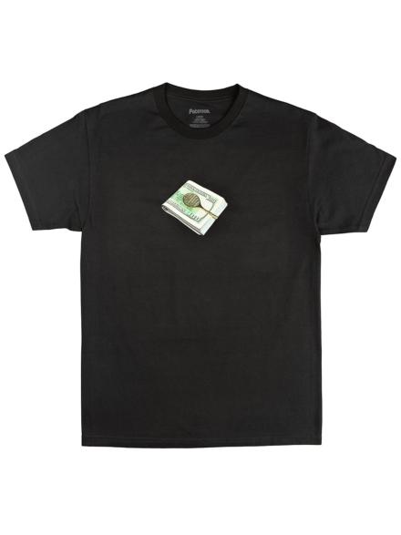 Paterson Stacks T-Shirt zwart