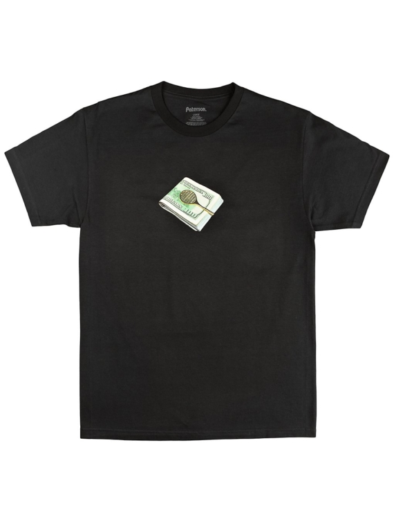 Paterson Stacks T-Shirt zwart