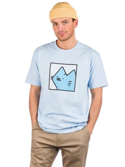 Leon Karssen Boxcat Scribble T-Shirt blauw