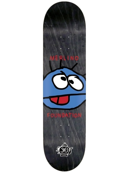 "Foundation Merlino Germ Reissue 30 Year 8.38"" Skateboard Deck geel"