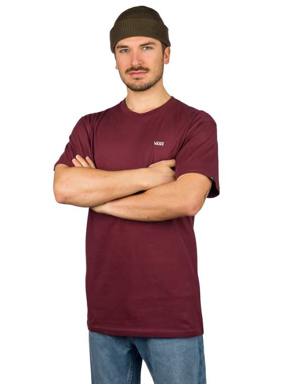 Vans Left Chest Logo T-Shirt paars