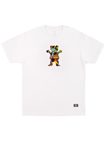 Grizzly Fungi OG Bear T-Shirt wit
