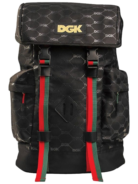 DGK Primo rugtas zwart