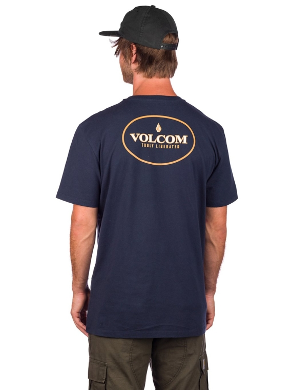 Volcom Vorbit LTW T-Shirt blauw