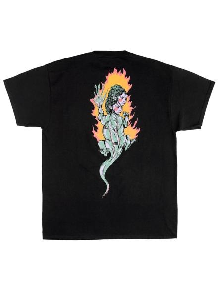 Welcome Komodo Queen T-Shirt zwart