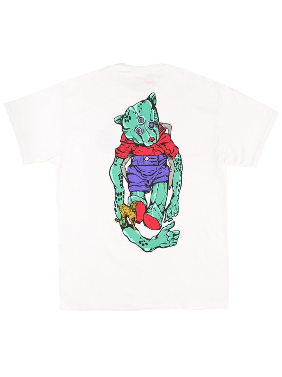 Welcome Teddy T-Shirt wit