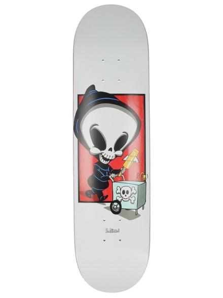 """Blind TJ wit Reaper Box R7 8.0"""" Skateboard Deck patroon"""