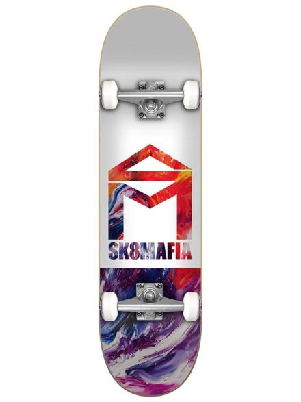 "SK8 Mafia House Logo Oil 7.5"" Complete patroon"