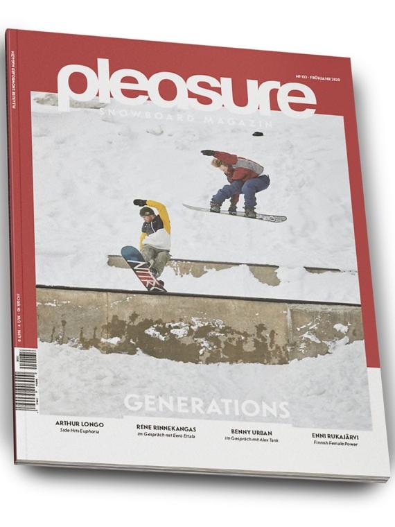 Pleasure #133 Magazin patroon
