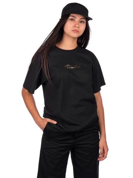 Primitive Mini Nuevo Gold Foil T-Shirt zwart